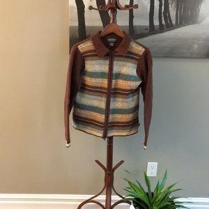 Woolrich 100% wool zip up